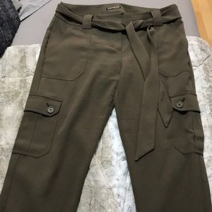 EXPRESS OLIVE GREEN CARGO PANT